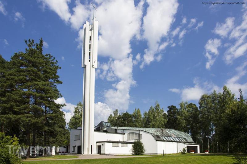 Лютеранская церковь Трёх Крестов в Иматре, Финляндия / Фото из Финляндии