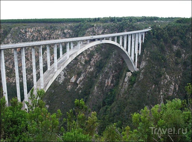 Мост через реку Блоукранс, ЮАР / Фото из ЮАР