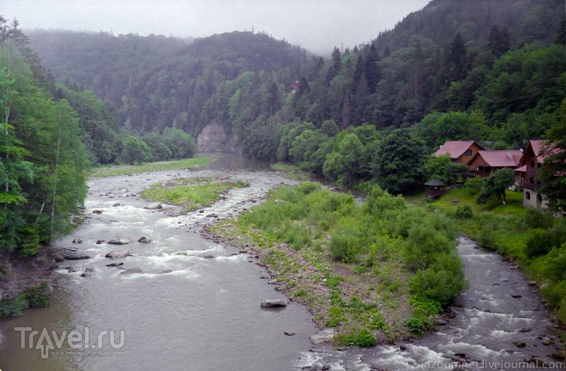 Яремча, Говерла, Водопад Гук / Украина