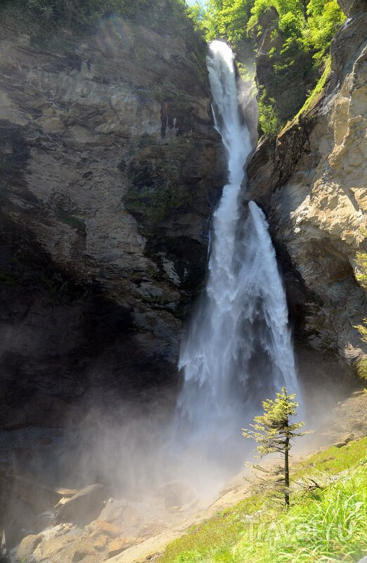 Рейхенбахский водопад / Фото из Швейцарии