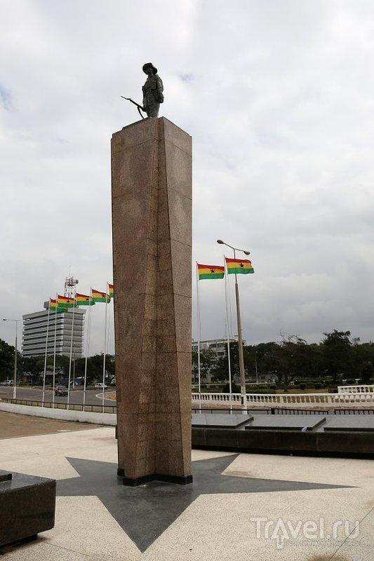 В городе Аккра, Гана / Фото из Ганы