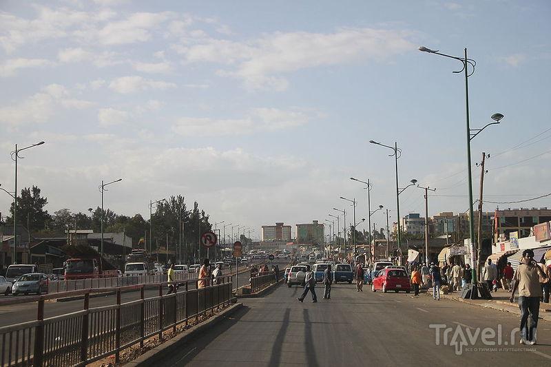В городе Аддис-Абеба, Эфиопия / Фото из Эфиопии