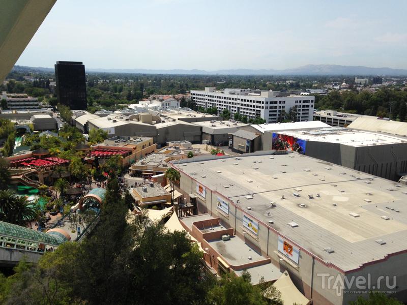Парк Universal в Лос-Анджелесе / США