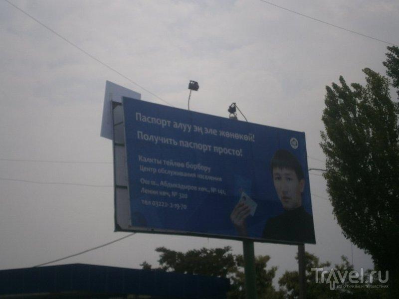Юг Киргизии: Ош, Джалал-Абад / Киргизия