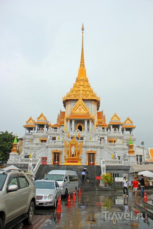 Храм Wat Tramit в Бангкоке, Таиланд / Фото из Таиланда