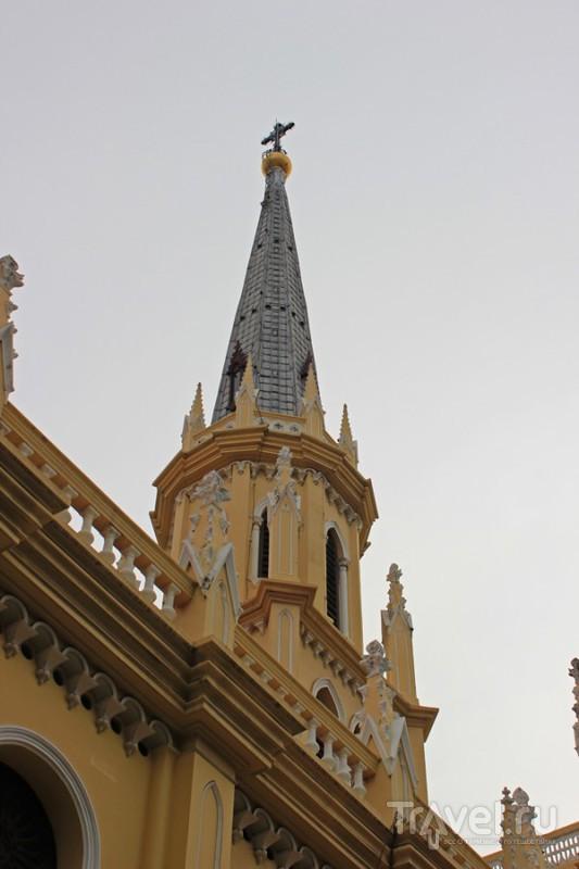 Католическая церковь Holy Rosary Church в Бангкоке, Таиланд / Фото из Таиланда
