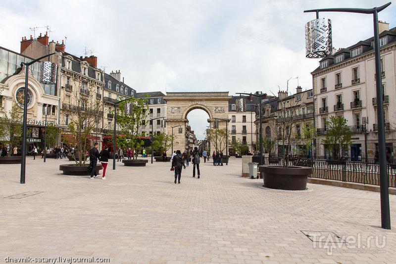 Площадь Дарси в Дижоне, Франция / Фото из Франции