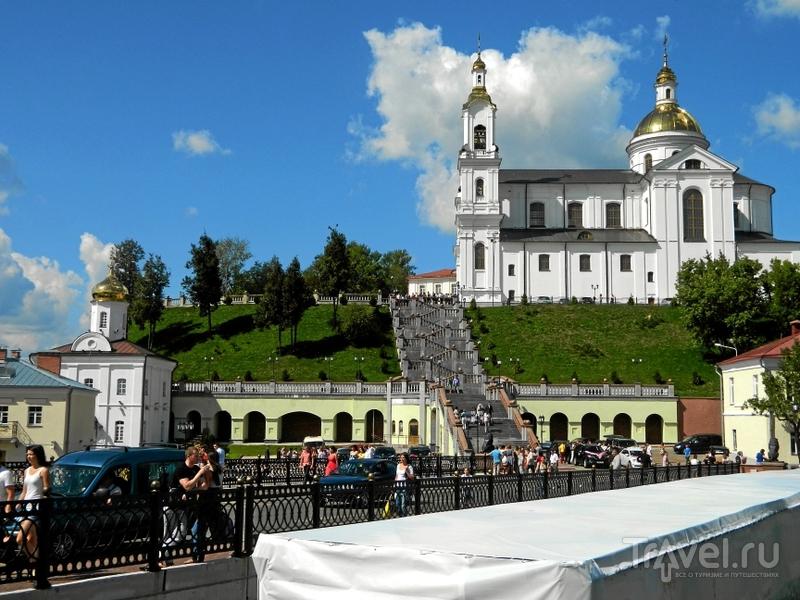Свято-Успенский кафедральный собор на Успенской горе в Витебске, Белоруссия  / Фото из Белоруссии