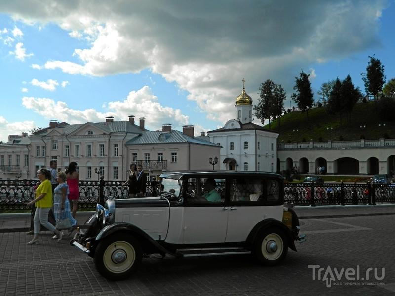 Пушкинский мост через речку Витьбу в Витебске, Белоруссия  / Фото из Белоруссии