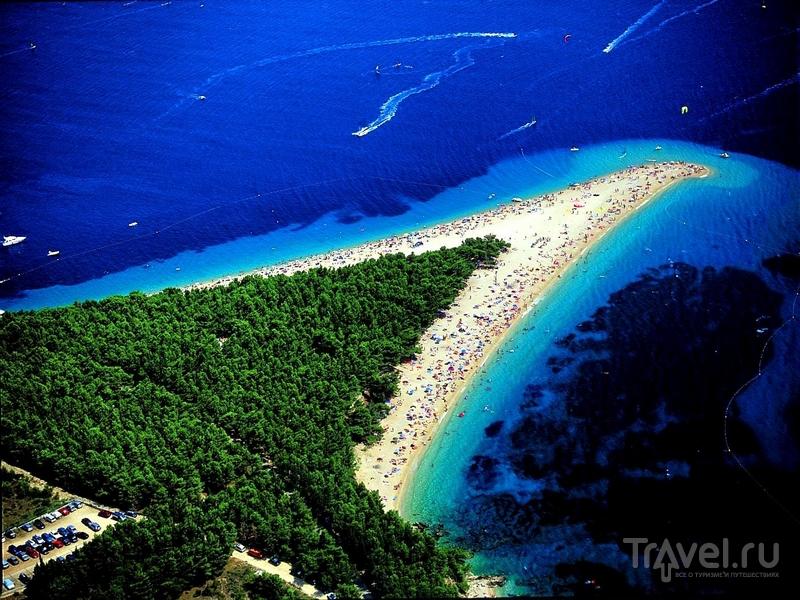 Хорватский Златни-Рат - природный феномен и один из лучших пляжей Европы / Хорватия