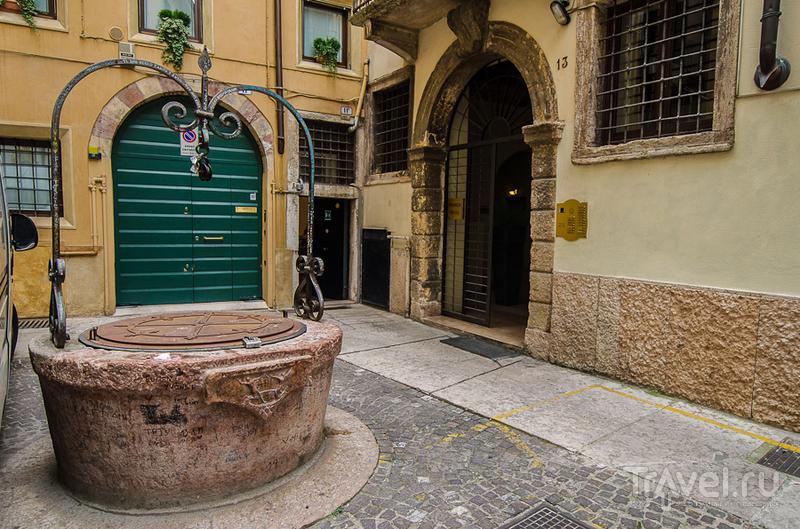 Колодец любви в Вероне, Италия / Фото из Италии