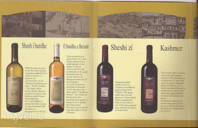Винодельня Чобо, Берат / Албания