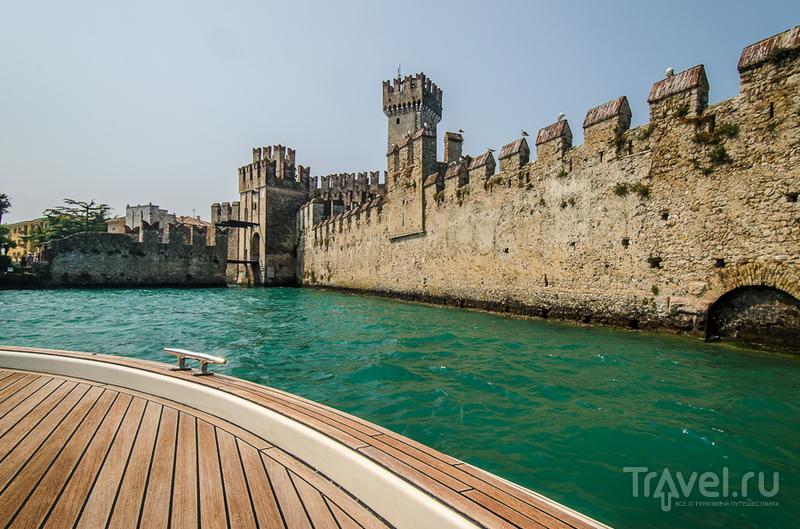 Замок Скалигеров в Сирмионе, Италия / Фото из Италии