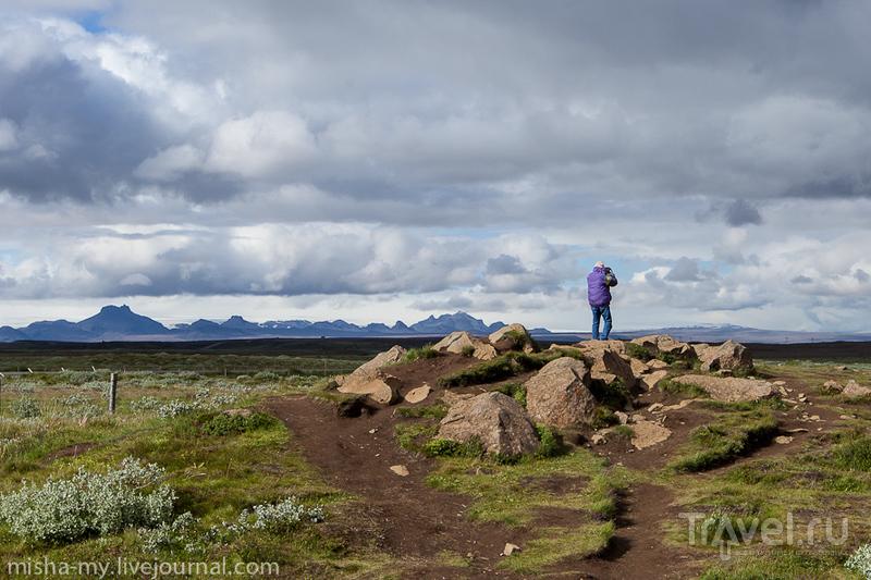 Путешествие в Исландию. Водопады Гюдльфосс и Селйяландсфосс / Фото из Исландии