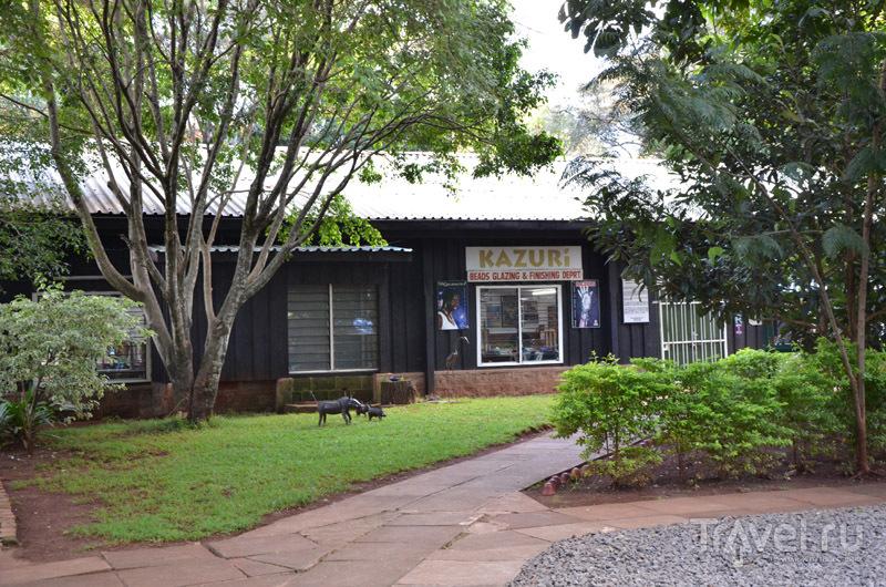 Фабрика Kazuri / Фото из Кении