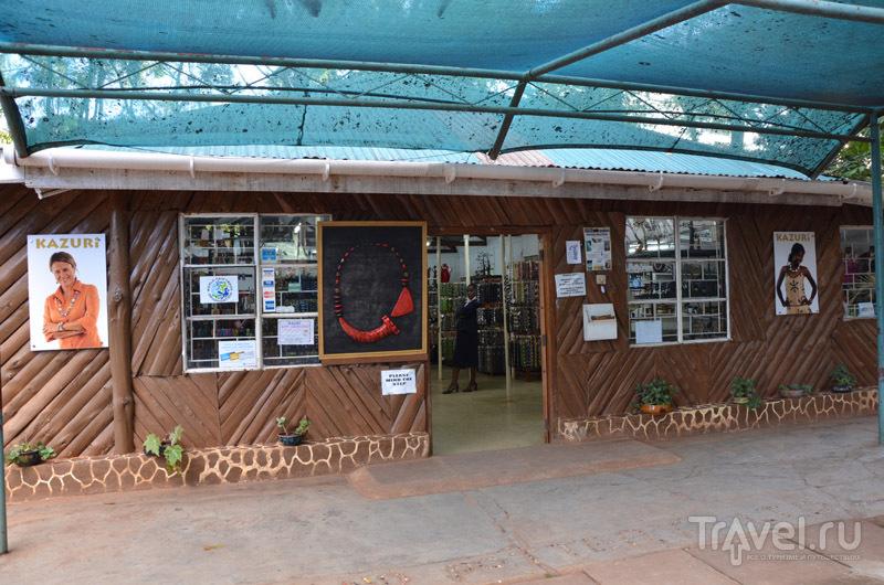 Магазин Kazuri / Фото из Кении