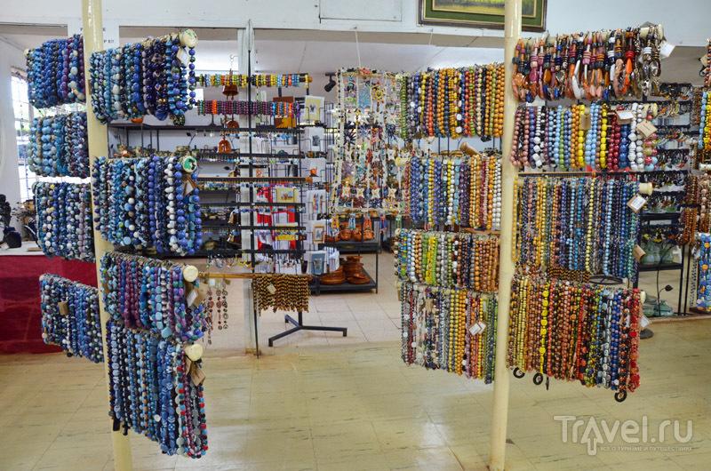 Керамические украшения Kazuri / Фото из Кении