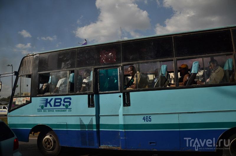 Транспорт Найроби / Фото из Кении