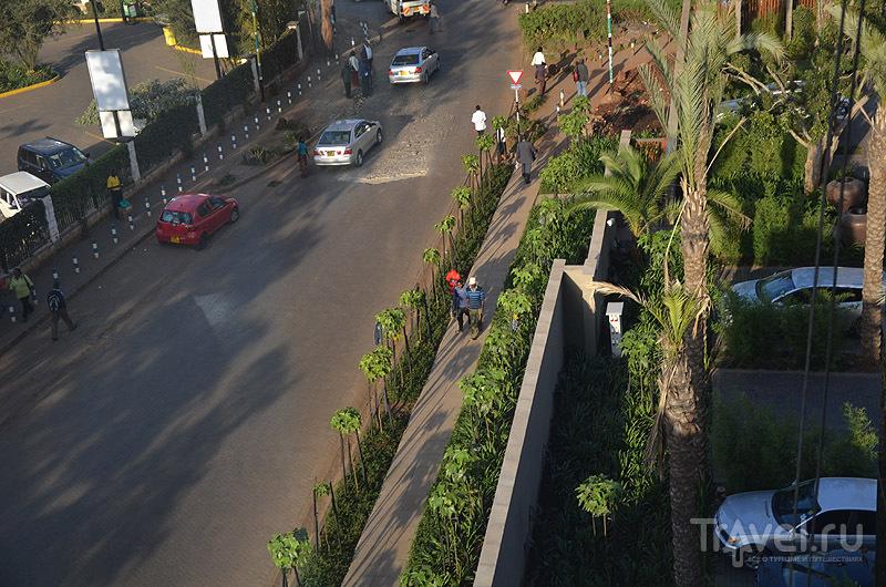 Улица в Найроби / Фото из Кении