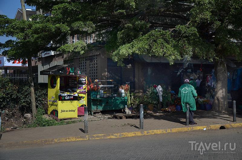 Торговля с прилавков в Найроби / Фото из Кении