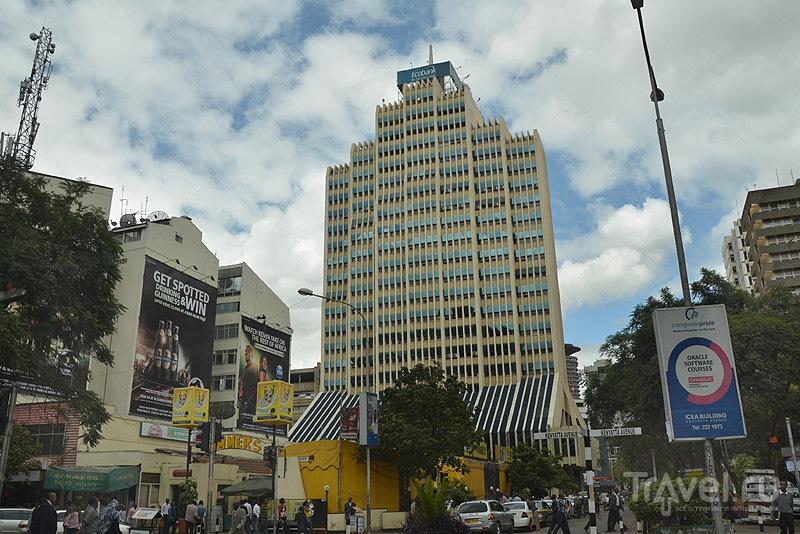 Высотка в Найроби / Фото из Кении
