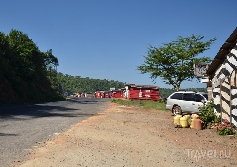 Сувенирные лавки / Фото из Кении