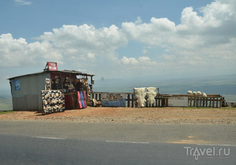 Сувениры для туристов / Фото из Кении
