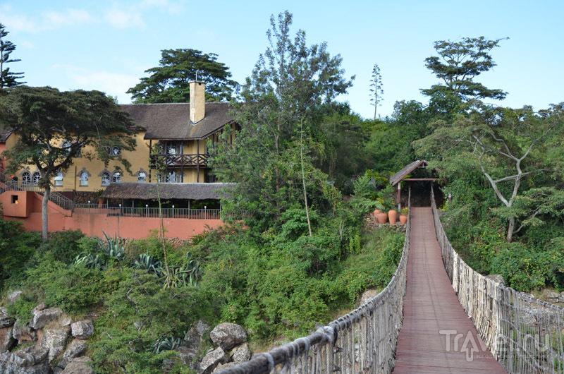 Мост к Rolf's Place / Фото из Кении