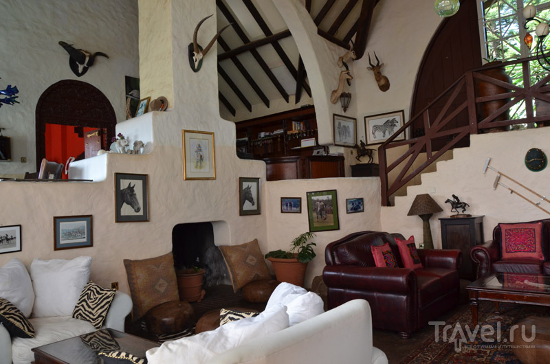 Интерьер в Rolf's Place / Фото из Кении