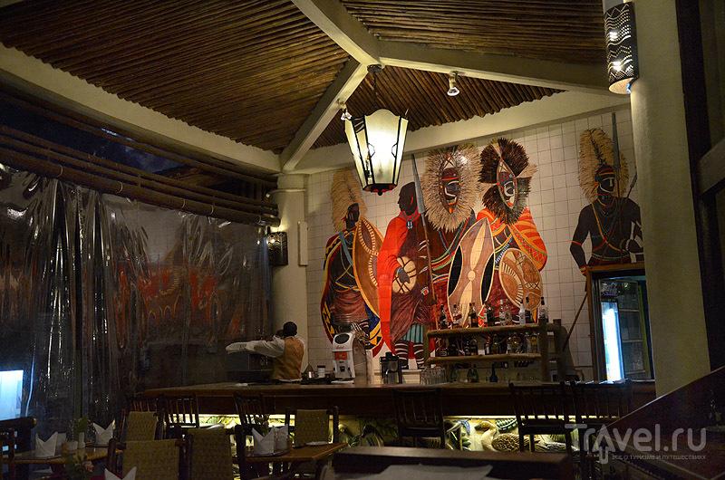 Ресторан в Safari Park Hotel / Фото из Кении