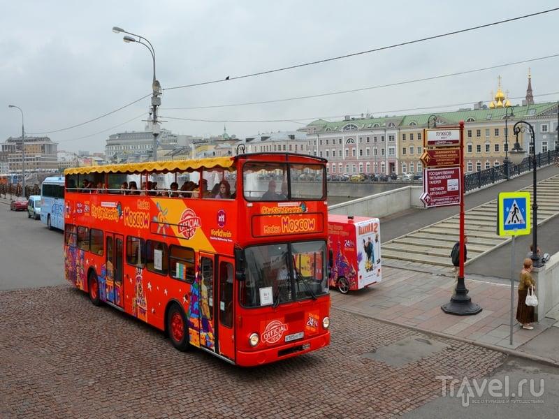 Автобусы City Sightseeing отправляются с Болотной набережной