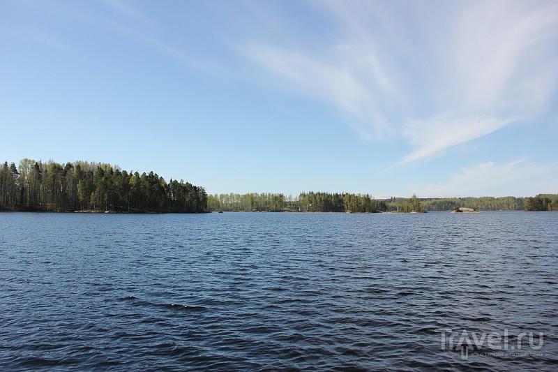 Озеро Сайма, Финляндия / Фото из Финляндии