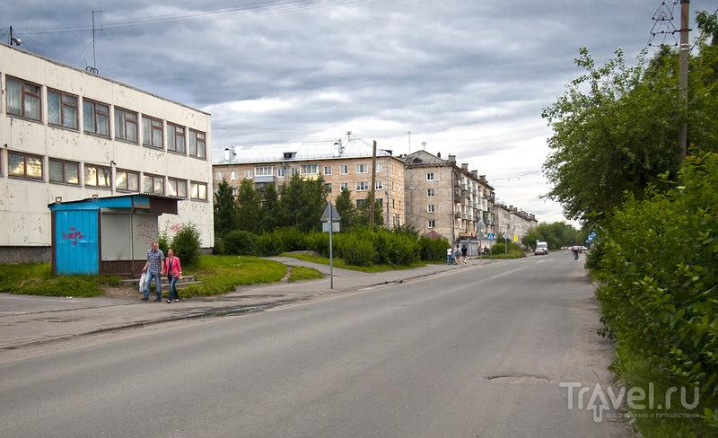 Пролетарский проспект в Кеми, Россия / Фото из России
