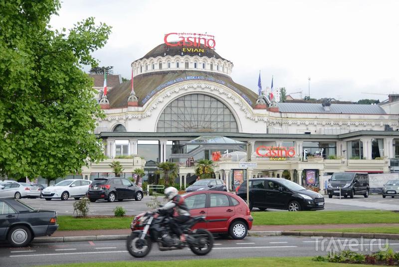 Франция: городок Эвиан-ле-Бен / Франция