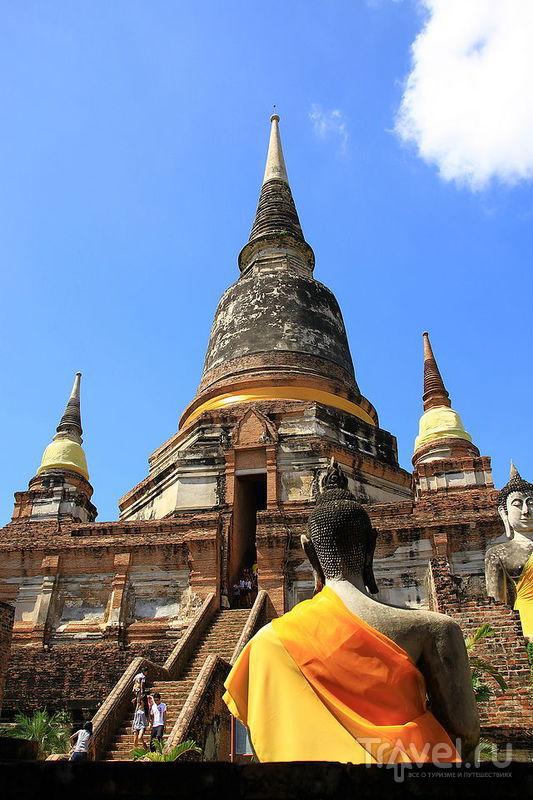 Комплекс Wat Yai Chai Mongkon в Аюттхае, Таиланд / Фото из Таиланда