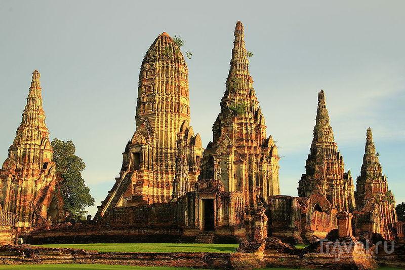 Храм Wat Chai Wattanaram / Фото из Таиланда