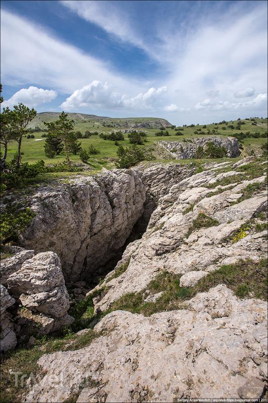 На горе Шаган-Кая  в Крымском природном заповеднике, Украина / Фото с Украины