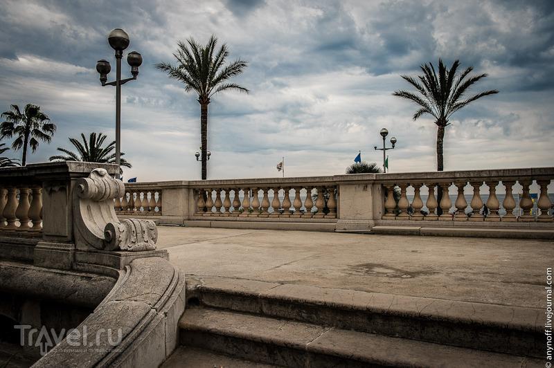 Английская набережная в Ницце, Франция / Фото из Франции