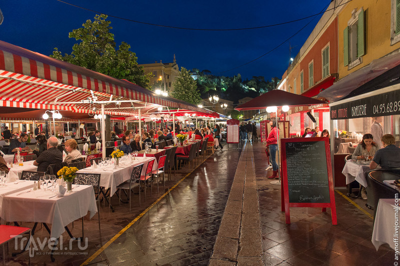 Рыбный рынок в Ницце, Франция / Фото из Франции