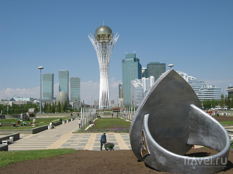 В городе Астана, Казахстан / Фото из Казахстана