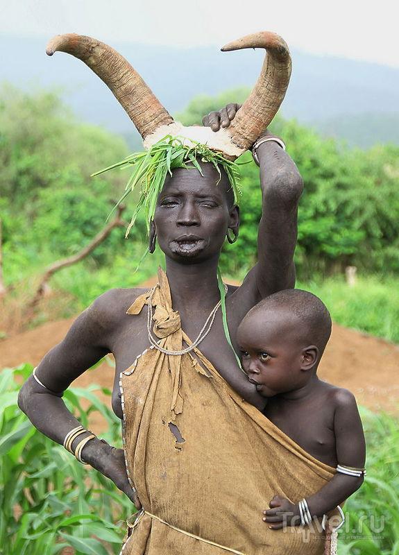 В долине Омо, Эфиопия / Фото из Эфиопии