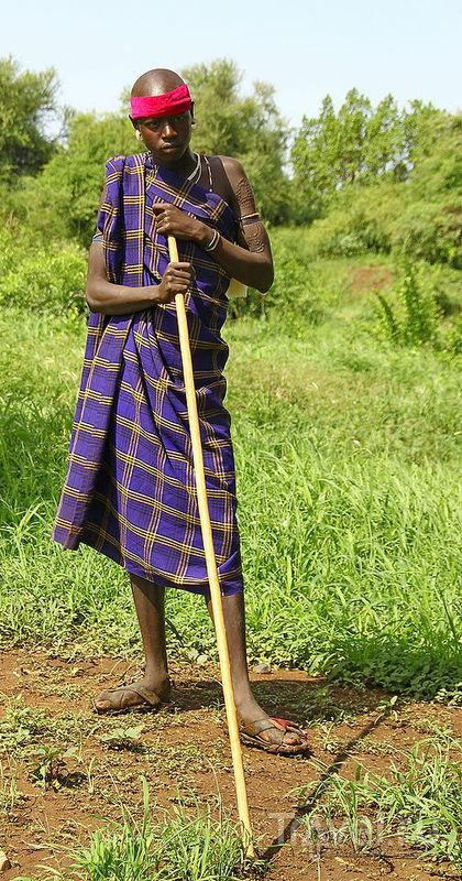 Дикий портрет Рифтовой долины. Племя Мурси / Фото из Эфиопии