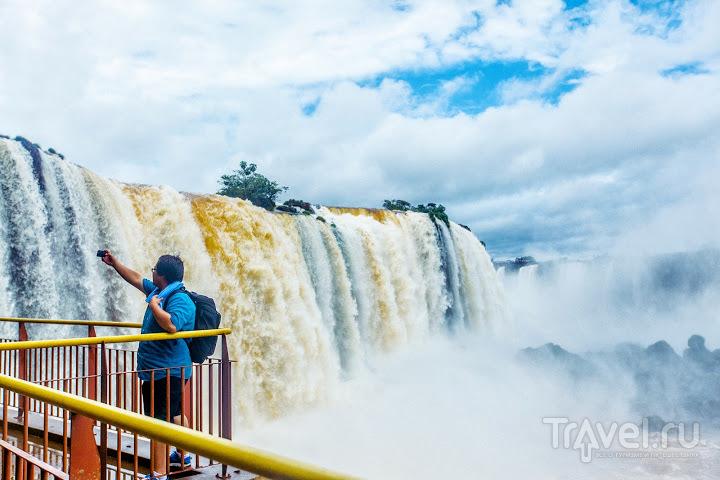 Игуасу: Бразилия или Аргентина? / Фото из Аргентины