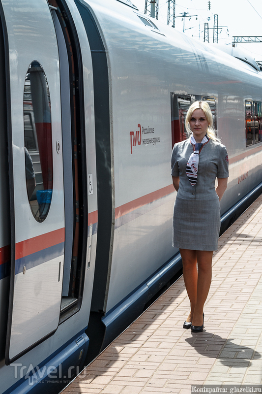 Сапсан Нижний Новгород - Дзержинск / Россия