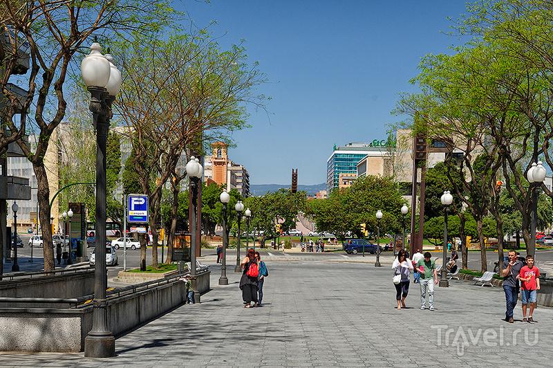 Улица Новая Рамбла в Таррагоне, Испания / Фото из Испании