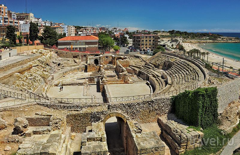 Амфитеатр Таррако в Таррагоне, Испания / Фото из Испании