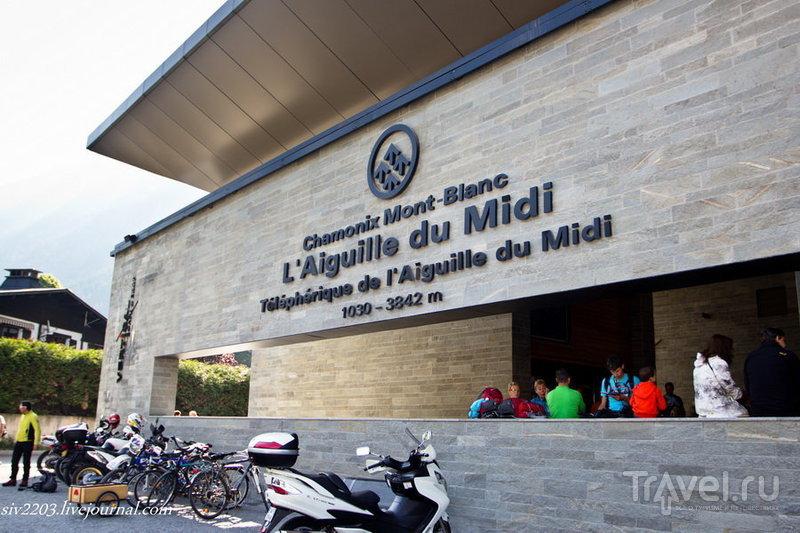 Канатная дорога Aiguille du Midi, Франция / Фото из Франции
