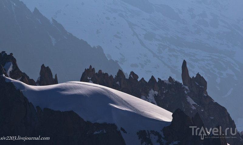 Aiguille du Midi - К Монблану по канату / Фото из Франции
