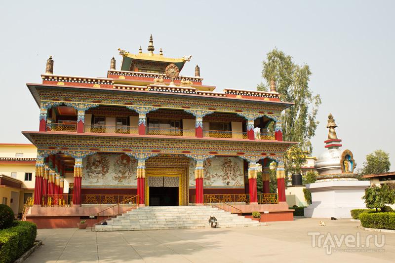 Тибетский храм Кармы (Karma temple) / Фото из Индии