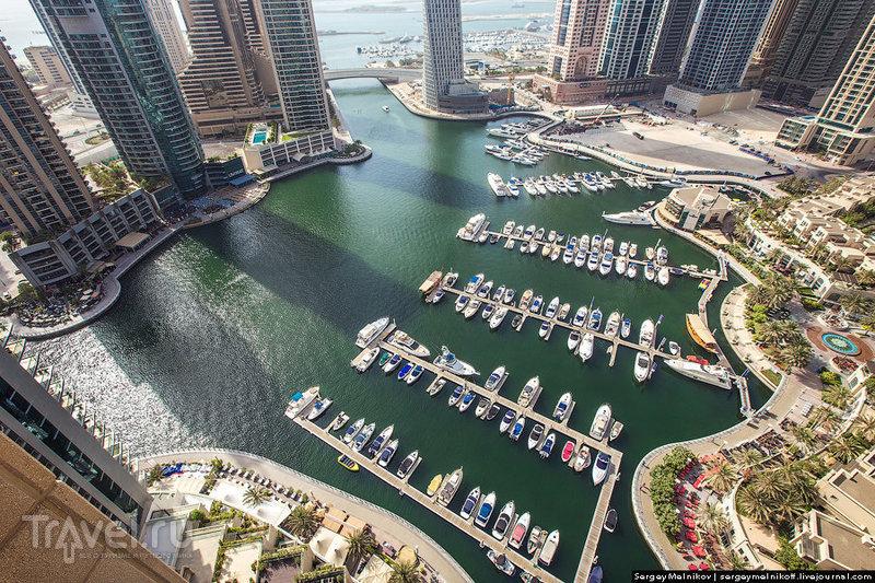 Жилой квартал Дубай-Марина в Дубае, ОАЭ / Фото из ОАЭ